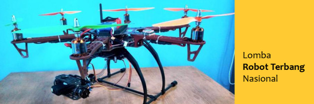 Mahasiswa FASILKOM di Ajang Robot Terbang Nasional
