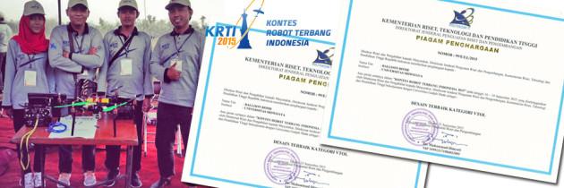 FASILKOM merebut Juara di KRTI 2015