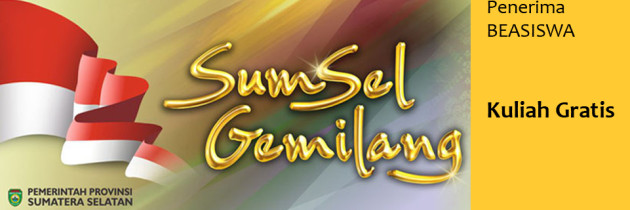 Nama Calon Penerima Beasiswa Program Kuliah Gratis PEMPROV SUMSEL (UPDATE)