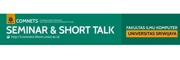 [Short Talk] Rudi Lumanto, Ph.D & Affan Basalamah