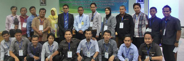 Pelatihan Pembinaan Karakter & Disiplin Pegawai FASILKOM