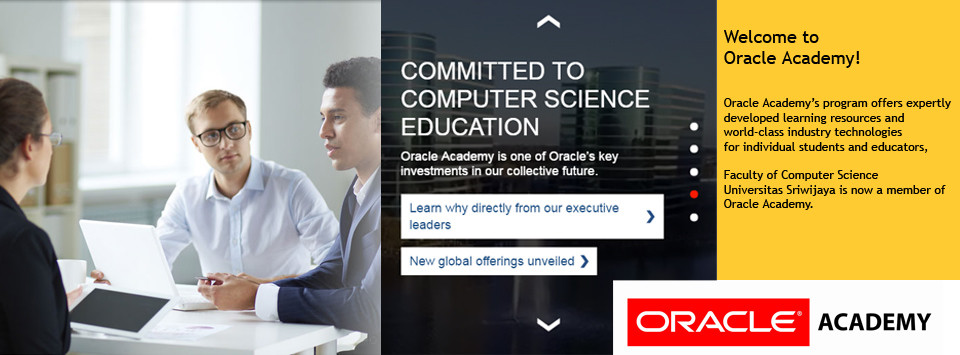 Oracle Academy Institutional member