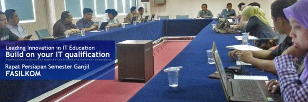 Persiapan Semester Ganjil 2016/2017