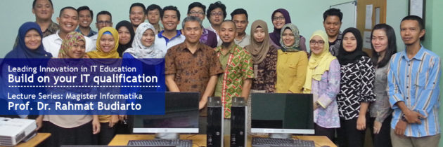 Lecture Series Magister Informatika