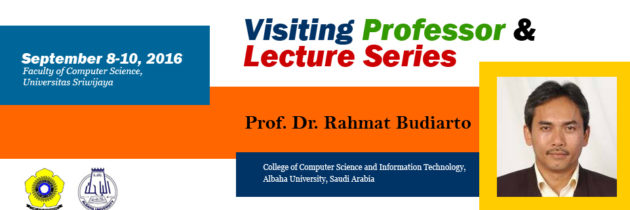 Visiting Professor & Lecture Series