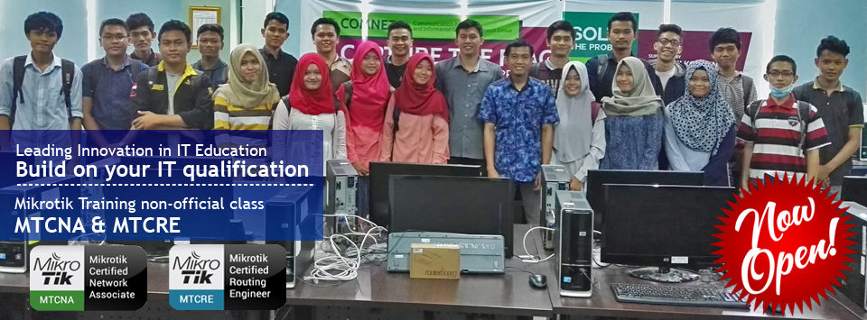 Now Open Mikrotik Training Non-Official Class