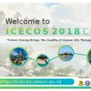 Call for Paper 2nd IEEE-ICECOS 2018 | Bangka Island