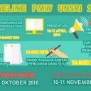 Program Mahasiswa Wirusaha (PMW)  Unsri 2018