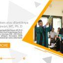 Pelantikan bapak Deris Stiawan. MT., Ph. D sebagai Kepala Unit Pelaksana Teknis Pusat Pengembangan Karakter dan Karir  Universitas Sriwijaya masa tugas 2020 – 2022