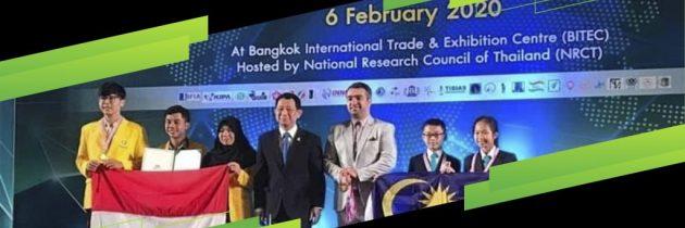 """Mahasiswa Fakultas Ilmu  Komputer Universitas Sriwijaya yang telah mendapatkan medali Emas  dan  medali Perak  dalam kegiatan """"Bangkok Internasional  Intellectual  Property, Invention, Inovation & Technologi Exposition""""  di Thailand  tanggal 2 – 6 Februari 2020"""
