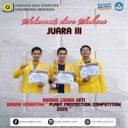 Juara 3 Lomba LKTI pada acara Plant Protection Competition